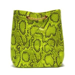 🔥New🔥Cristina Lime Snakeskin Bag. 😍😍